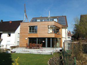 Komplettsanierung eines Wohnhauses in Ludwigsburg