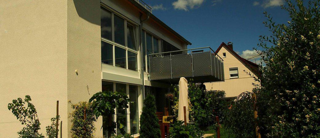 Modernisierung eines Mehrfamilienhauses