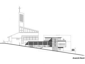 energiearchitekt: Projekt Erweiterung Gemeindezentrum Marbach