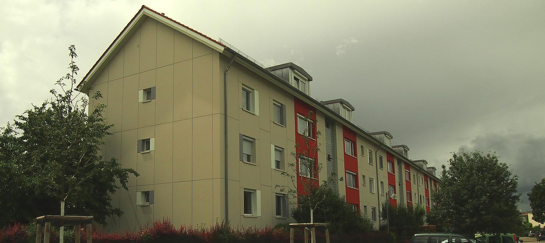 Sanierung eines Wohngebäudes in Ludwigsburg